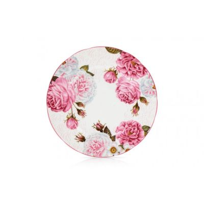 royal palace rose china plate