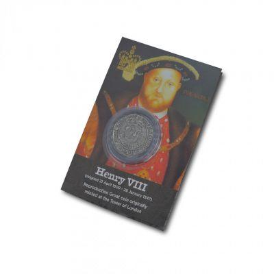 Replica coin - Henry VIII Tudor groat