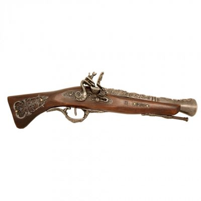 Replica flintlock pistol - 18th Century