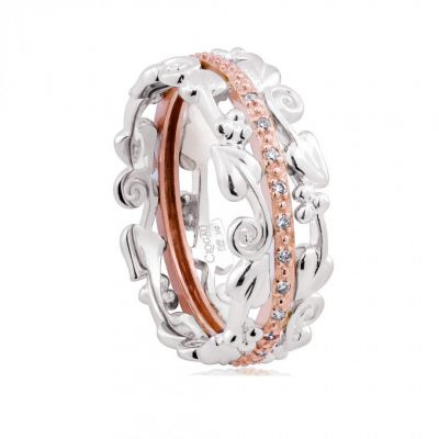 Clogau Tree of Life silver ring