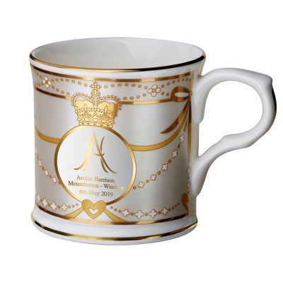 Royal Baby 2019 commemorative Archie Harrison Mountbatten-Windsor fine bone china mug