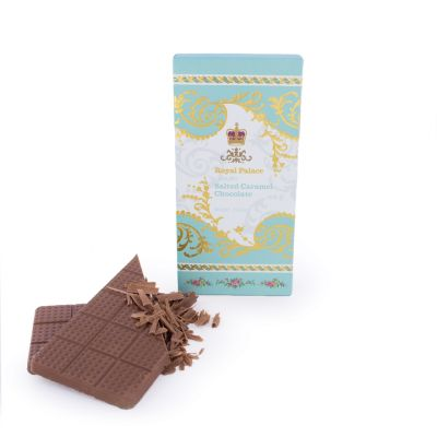 Luxury Salted Caramel Milk Chocolate Bar Royal Palace