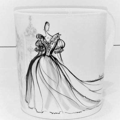 Royal Style in the Making Fine Bone China Mug