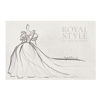 Royal Style in the Making Tea Towel