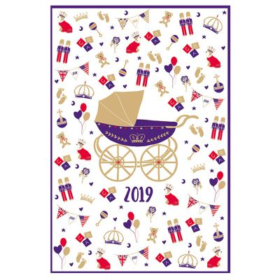 Royal Baby 2019 commemorative tea towel