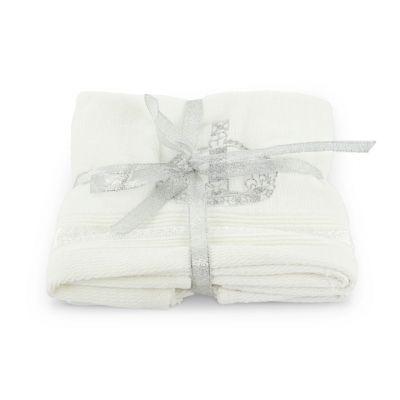Royal Victoria crown cotton face towels