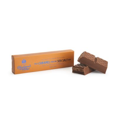 Charbonnel et Walker sea salt caramel praline milk chocolate bar 75g