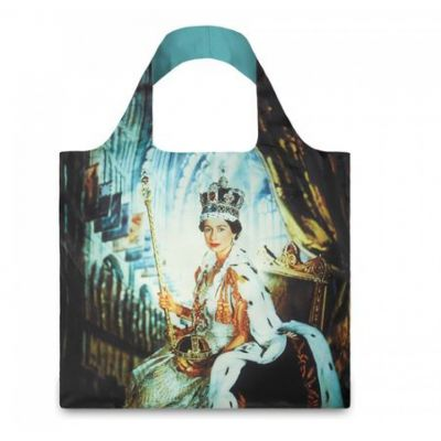 Queen Elizabeth II foldaway shopping bag
