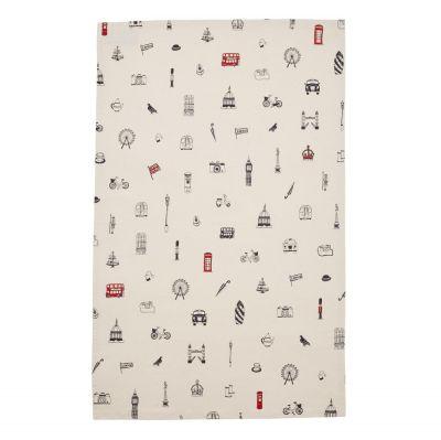 Simply London cotton tea towel