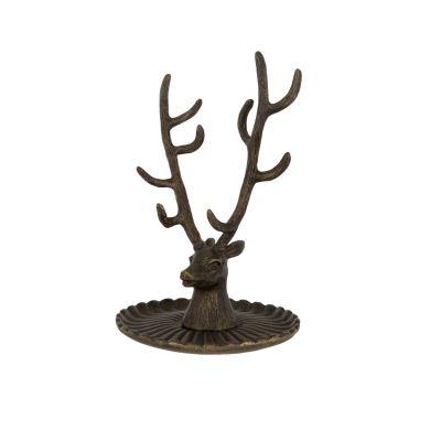 Stag antler jewellery tree - vintage jewellery storage