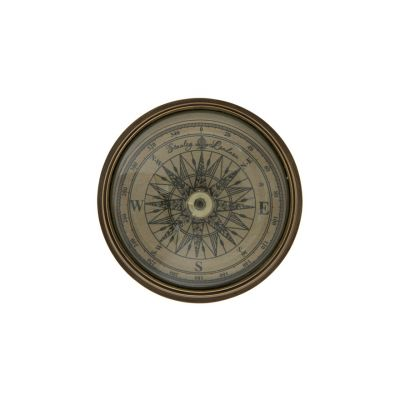 Traditional brass 'Stanley' compass