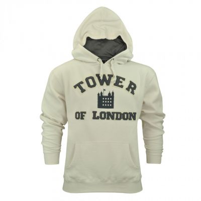Tower of London hooded sweatshirt (cream)