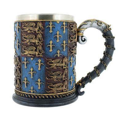 Medieval knights tankard