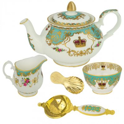 William Edwards Royal Palace tea lover's accessories set - teapot