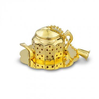 Royal Palace teapot tea infuser with tray