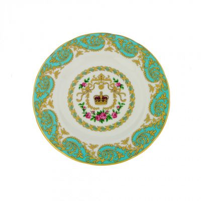 William Edwards Royal Palace bone china tea plate