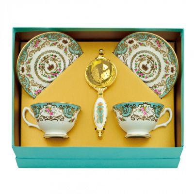 Royal Palace fine bone china tea for two gift set