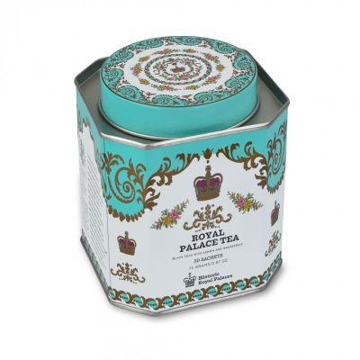 Royal Palace Collection decorative tea tin with luxury tea bags