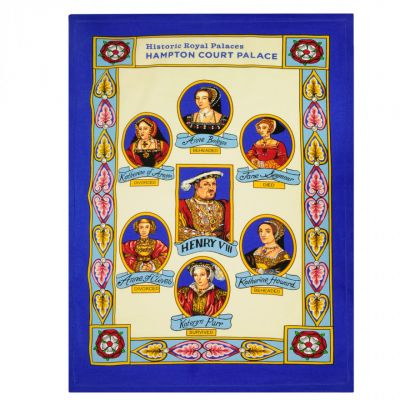 Ulster Weavers Henry VIII and wives tea towel