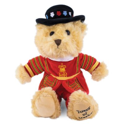 Tower of London Beefeater soft toy teddy bear
