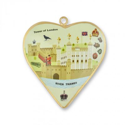 Tinker Tailor Tower of London heart decoration