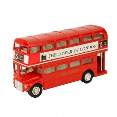 London red Routemaster bus model toy