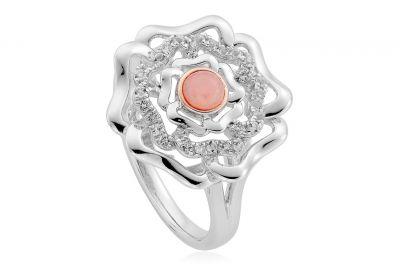clogau tudor rose gold ring