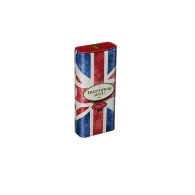 Union Jack travel mints tin