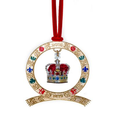 2019 Victoria Imperial State Crown dated decoration (Decorations)