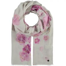 Floral Printed Woven Jaquard Scarf