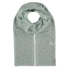 Light green 'Diamante' cashmere summer scarf