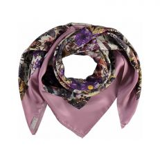 Silk Floral Print (pink)