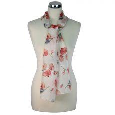 Floral Caroline Silk Scarf