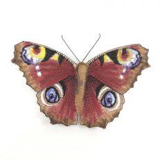 Peacock Butterfly Brooch
