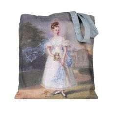 Victoria: A royal childhood portrait tote bag