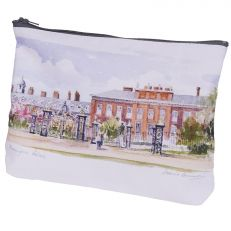 Kensington Palace watercolour cosmetic bag