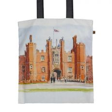 Hampton Court Palace watercolour tote bag
