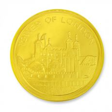 Tower mint Tower of London large chocolate coin