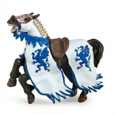 Papo UK Blue dragon horse model toy