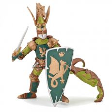 Papo UK Green dragon knight model toy