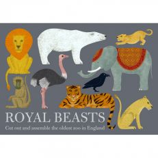 Royal Beasts cut out book