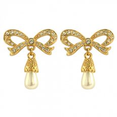 Crowns Regalia Princess bow earrings