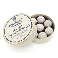 Charbonnel et Walker sea salted caramel truffles