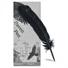 Ancestors of Dover Raven feather pen