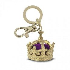HENRY'S CROWN GOLD PLATED KEYRING