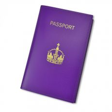 Henry VIII's crown passport holder