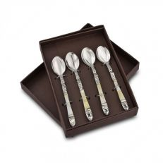 Mother of pearl coffee spoon set