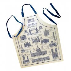 London landmarks cotton apron