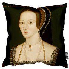Anne Boleyn portrait cushion 45cm x 45cm
