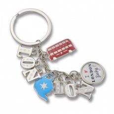 Alice tait London charm keyring